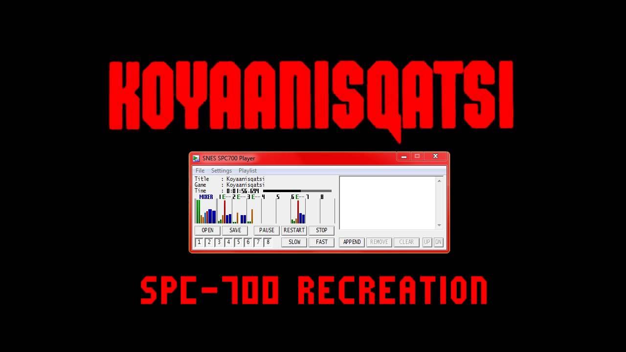 Philip Glass - Koyaanisqatsi (SNES Soundfont)