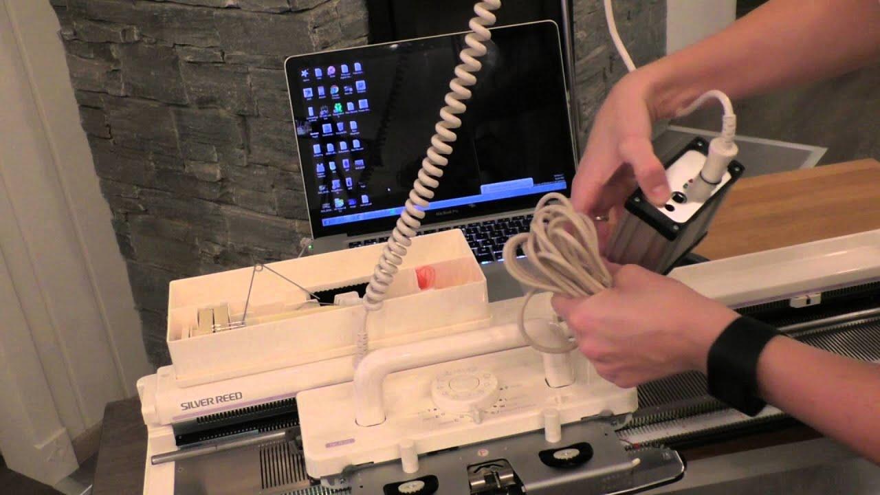 BROTHER Machine à Tricoter Chunky Sponge Retaining Bar pour double lit KR 260 KH230