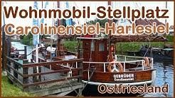 Ostfriesland Wohnmobil-Stellplatz Carolinensiel-Harlesiel. Kleiner Rundgang im Ort