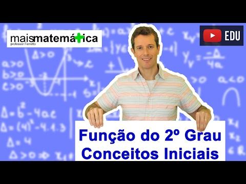 Função do Segundo Grau (Função Quadrática): Conceitos Iniciais (Aula 1 de 9)