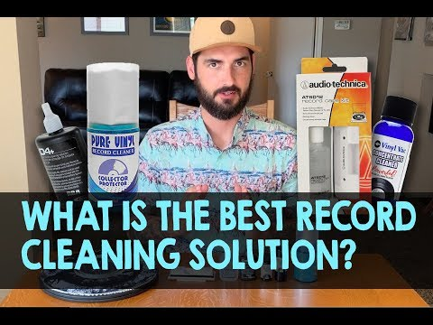 What is the best RECORD CLEANING SOLUTION?