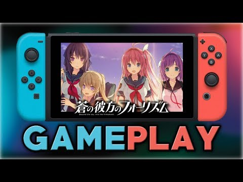 Ao no Kanata no Four Rhythm for Nintendo Switch | First 15 Minutes