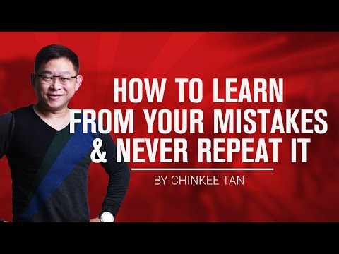 How To Learn From Your Mistakes and Never Repeat It