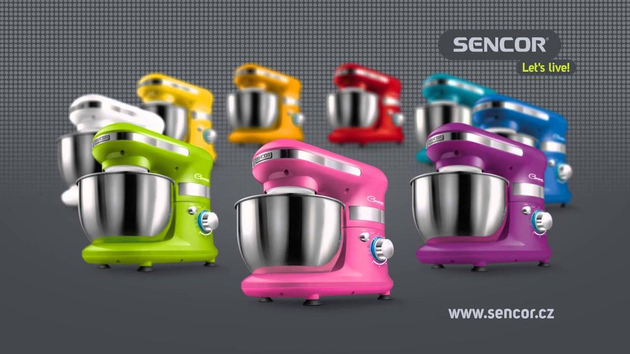 Kuchyňsk 253 Robot Sencor Stm 301x Youtube