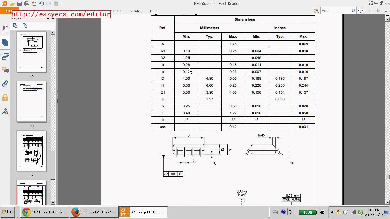 How to create Schematic lib and PCB lib in EasyEDA