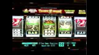 Thunder Warrior Slot Machine Jackpot BIG WIN