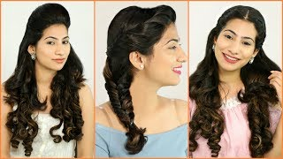 5 Festive PUFF Hairstyles Every TEENAGER Must Try - Jennifer Winget Inspired Hairstyles | Anaysa