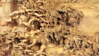 Chinese Wood Carving Paintings