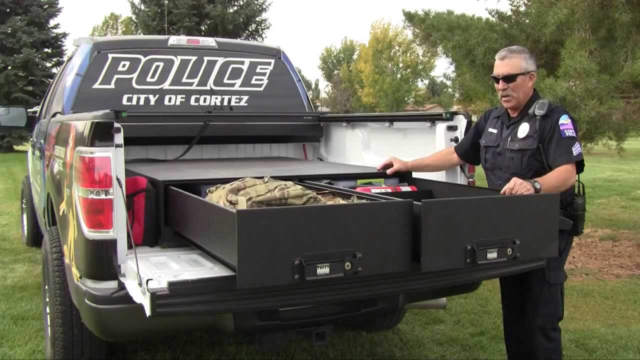 tuffy product #257 - heavy duty truck bed security drawers - youtube