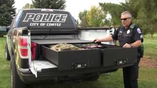 Tuffy Product #257 - Heavy Duty Truck Bed Security Drawers