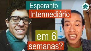 Esperanto intermediário em 6 semanas? Conversa Pedro Lucas | Esperanto do ZERO!