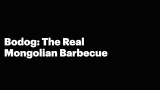 The Real Mongolian Barbecue TRAILER