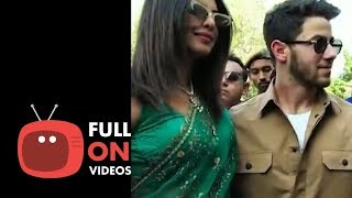 Newly weds Priyanka Chopra & Nick Jonas Leave Jodhpur