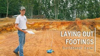 ICF Home Build (#13): Laying Out Square Concrete Footings