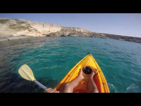 Kayaking Paradise Bay Malta