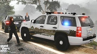 GTA 5 MODS LSPDFR 982  - SHERIFF TAHOE PATROL!!! (GTA 5 REAL LIFE PC MOD)