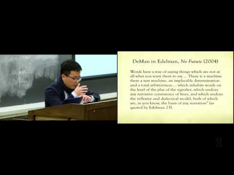 """Andrew Leong on """"The Future of Queer Theory / The Usure of Modernist Form"""" (MCT Lecture Series)"""