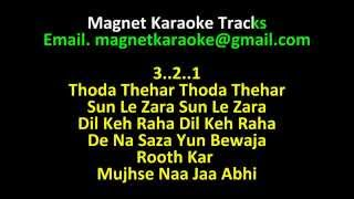 Magnet Karaoke Tracks with Lyrics Aa Jao Meri Tamanna