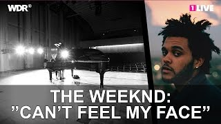 "The Weeknd: ""Can't feel my face"" - 1LIVE Chilly Gonzales Pop Music Masterclass 