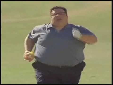 Fat Guy Running (to funny music) - YouTube