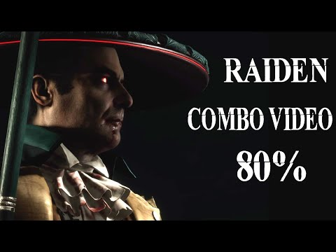MK11 Aftermath - Raiden Combo Video