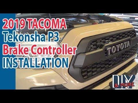 Diy Complete Installation Tekonsha P3 Trailer Brake