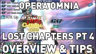 Dissidia Opera Omnia: Seymour, Ace & Sabin Lost Chapters Overview & Tips