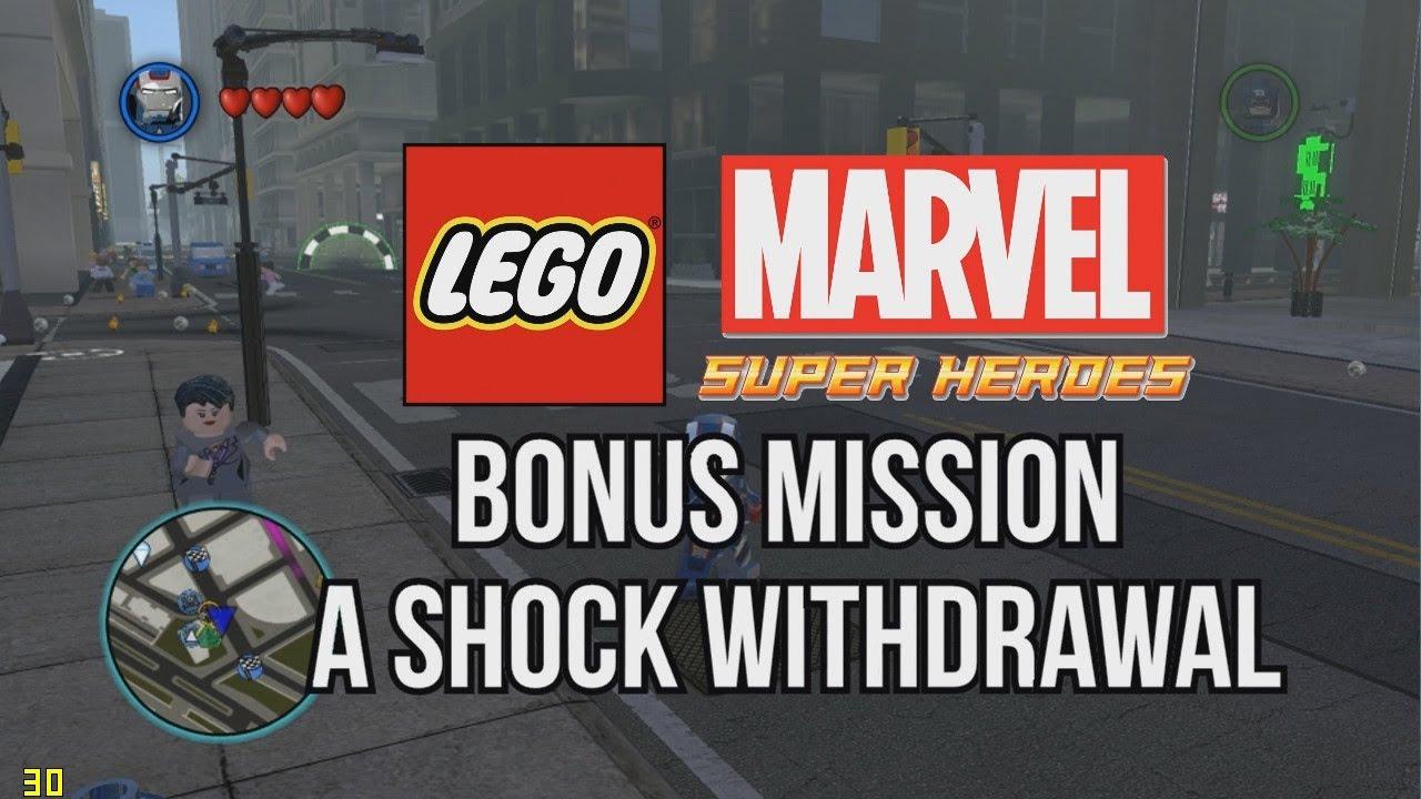 marvel lego a shock withdrawal