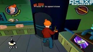 Futurama (PS2 Gameplay) PCSX2 Emulator HD
