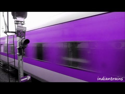 indiantrains@ 5 new colours of high speed rajdhani express train / part 1 / vote your choice