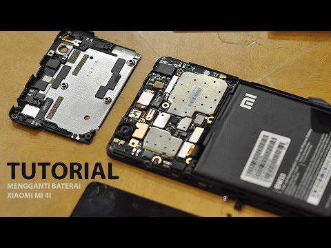 Tutorial Mengganti Baterai Xiaomi Mi 4i