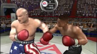 "Floyd Mayweather Jr vs Eric ""Butterbean"" Esch - Dream Fight! Knockout Kings 2003"