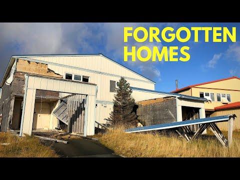Abandoned neighborhoods of Adak Island