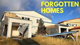 ABANDONED neighborhoods of Adak Island Alaska