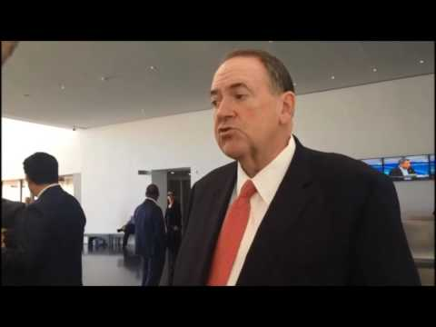 Mike Huckabee talks to JPost about Trump