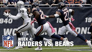 Amari Cooper's Back-of-the-End Zone TD Catch! | Raiders vs. Bears | NFL