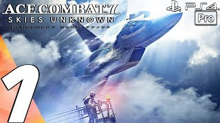 ACE COMBAT 7 - Gameplay Walkthrough Part 1 - Prologue (Full Game) PS4 PRO