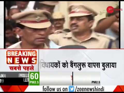 Breaking News: Yeddyurappa calls BJP MLAs back to Karnataka from Gurugram Resort