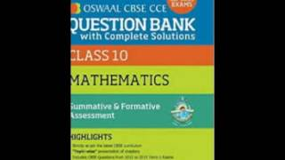 Oswaal CBSE CCE Question Bank With Complete Solutions - Panel of Experts