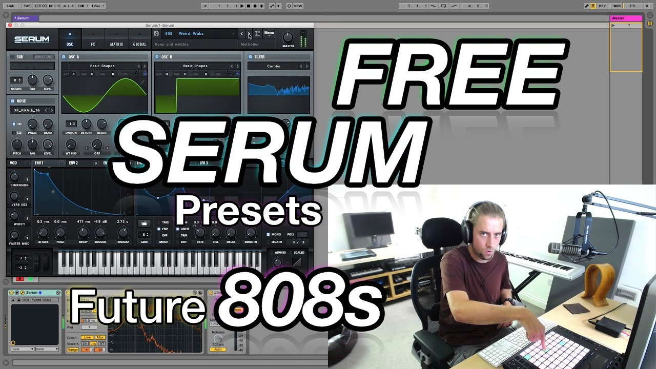 FREE SERUM PRESETS - Future 808s (Trap, Hip Hop, EDM, etc..)