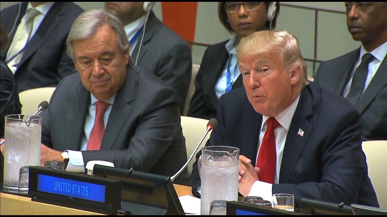 Trump addresses UN General Assembly