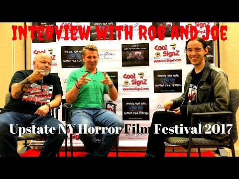 Interview with Rob and Joe - Upstate NY Horror Film Festival