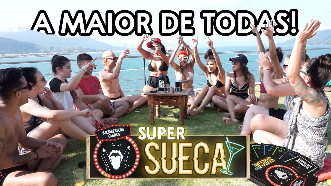 #SAPATOURGAME: SUPER SUECA!