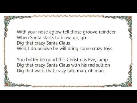 Brian Setzer - Dig That Crazy Santa Claus Lyrics