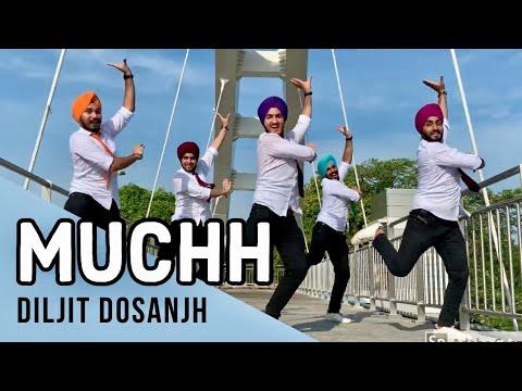 Muchh - Diljit Dosanjh | Bhangra | Folking Desi | New Punjabi Songs | Saga Music