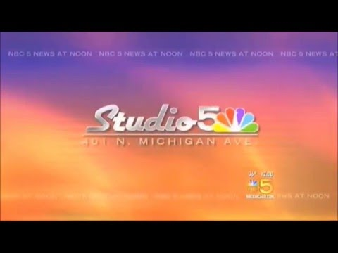 NBC 5 News at Noon open 2008-2012 (Studio 5)