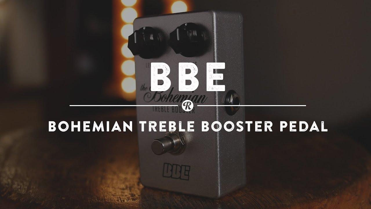 BBE Bohemian Treble Boost Pedal