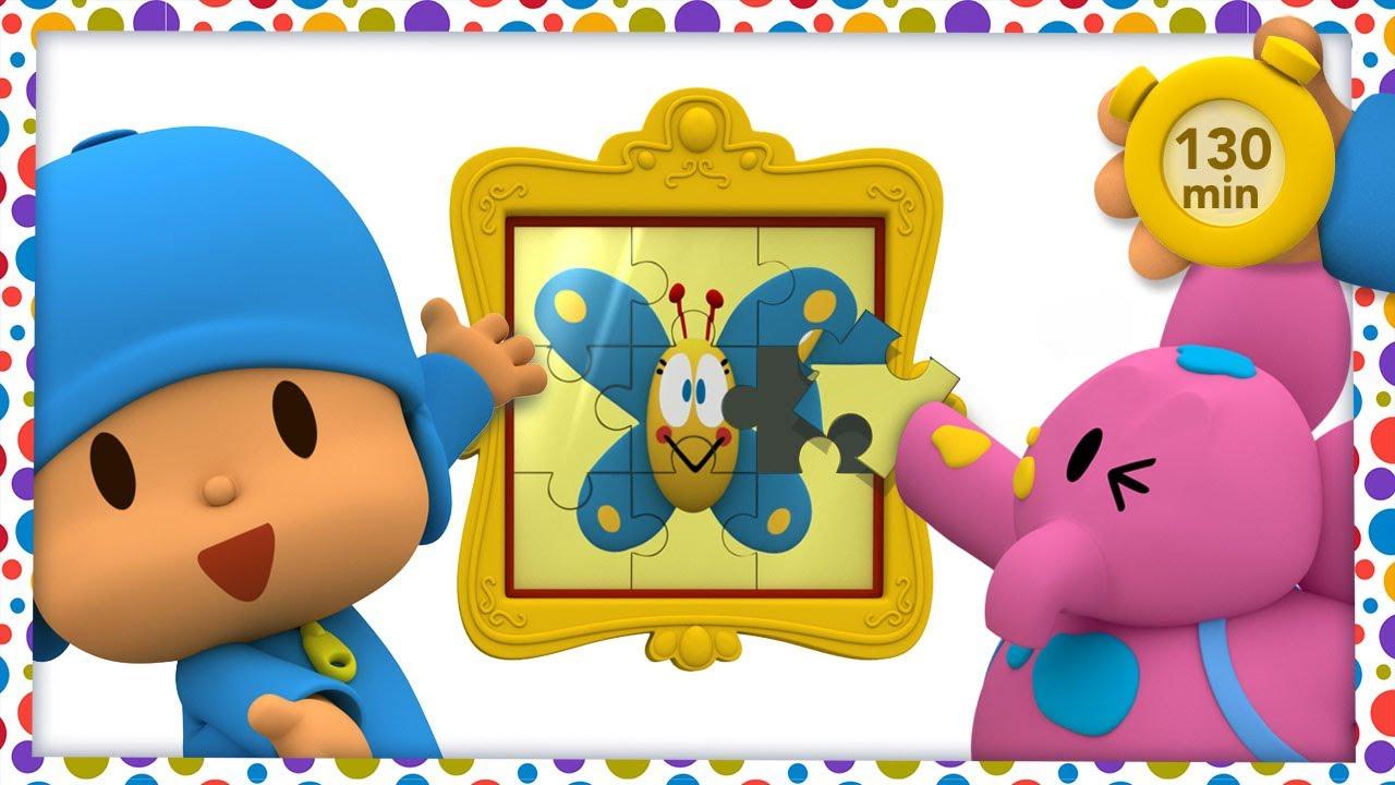 ✂️ POCOYO E NINA - Artesanato para crianças [130 minutos] | DESENHOS ANIMADOS para crianças