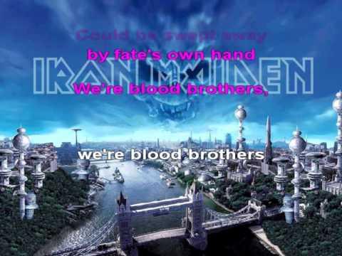 Iron Maiden - Blood Brothers [Karaoke version]