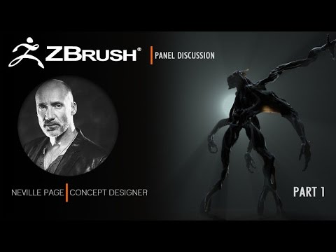 ZBrush Presentation with Neville Page Part 1